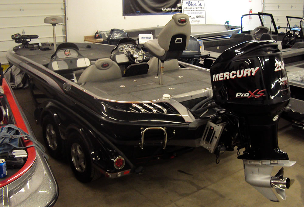 2008 Ranger Z520 Comanche DC - Mercury Optimax 250 Pro XS
